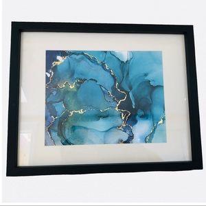 Framed Artwork with Gold leaf detailing
